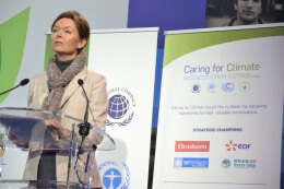 "Foro: ""Caring For Climate"" – París, Francia."