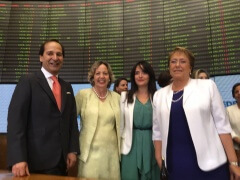 Ring the Bell for the Gender Equality – Chile